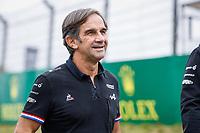 2nd September 2021: Circuit Zandvoort,  Zandvoort, Netherlands;   BRIVIO Davide ita, Racing Director of Alpine F1 Team arrives for the Formula 1 Heineken Dutch Grand Prix 2021, 13th round of the 2021 FIA Formula One World Championship