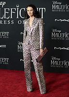 """LOS ANGELES, USA. September 30, 2019: Lydia Hearst-Shaw at the world premiere of """"Maleficent: Mistress of Evil"""" at the El Capitan Theatre.<br /> Picture: Jessica Sherman/Featureflash"""
