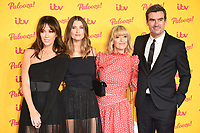 Zoe Henry, Charley Webb, Michelle Hardwicke and Jeff Hordley<br /> arriving for the ITV Palooza at the Royal Festival Hall London<br /> <br /> ©Ash Knotek  D3444  16/10/2018