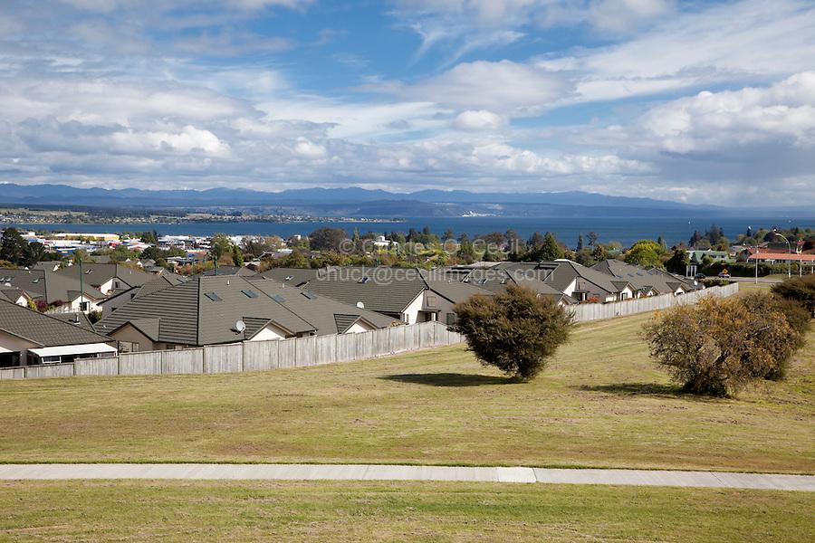 Lake Taupo, north island, New Zealand.
