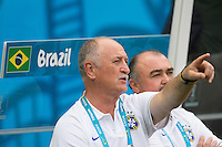 Fortaleza, Brazil - Tuesday, June 17, 2014: Mexico and Brazil played to a 0-0 draw during World Cup group play at Estádio Castelão.<br /> <br /> 17/06/2014/MEXSPORT/OMAR MARTINEZ<br /> <br /> Estadio: Castelao, Fortaleza