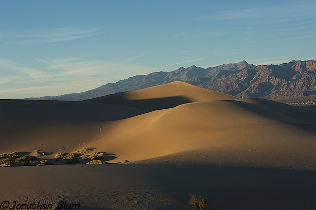 Dunes at Sunset, Death Valley National Park