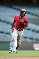 Arizona Diamondbacks outfielder Matt McPhearson (3) during an Instructional League game against the Oakland Athletics on October 10, 2014 at Chase Field in Phoenix, Arizona.  (Mike Janes/Four Seam Images)
