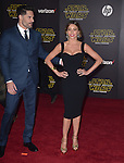 Joe Manganiello and Sofia Vergara Manganiello<br /> <br /> <br />  at Star Wars: The Force Awakens World Premiere held at El Capitan Theatre in Hollywood, California on December  14,2015                                                                   Copyright 2015Hollywood Press Agency