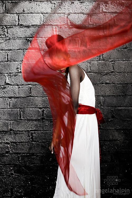 Photography: Angela Halpin.Creative Director: Jason Foran.www.jangproductions.net.Make Up: Nadia Macari.Model: Dimakatso Mogwaneng.Dress Designer: Caiomhe Keane