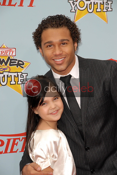 """Bailee Madison and Corbin Bleu<br /> at Variety's 3rd Annual """"Power of Youth,"""" Paramount Studios, Hollywood, CA. 12-05-09<br /> David Edwards/DailyCeleb.com 818-249-4998"""