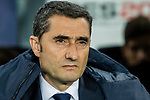Coach Luis Ernesto Valverde Tejedor of FC Barcelona reacts prior to the La Liga 2017-18 match between FC Barcelona and Girona FC at Camp Nou on 24 February 2018 in Barcelona, Spain. Photo by Vicens Gimenez / Power Sport Images