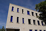 Polizei-Gebäude, Vaduz, Liechtenstein..©Paul Trummer, Mauren / FL.www.travel-lightart.com..
