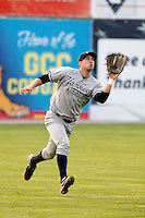 August 15, 2009:  Left Fielder Neil Medchill of the Staten Island Yankees during a game at Dwyer Stadium in Batavia, NY.  Staten Island is the Short-Season Class-A affiliate of the New York Yankees.  Photo By Mike Janes/Four Seam Images