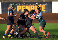 Action from the Auckland premier women's Coleman Shield rugby final between Ponsonby and Manurewa at Western Springs in Auckland, New Zealand on Saturday, 19 June 2021. Photo: Dave Lintott / lintottphoto.co.nz