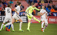 Washington, DC - March 7, 2017: Germany defeated England 1-0 during the SheBelieves Cup.
