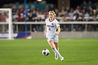 Stanford, CA - December 8, 2019: Sierra Enge at Avaya Stadium. The Stanford Cardinal won their 3rd National Championship, defeating the UNC Tar Heels 5-4 in PKs after the teams drew at 0-0.