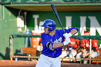 Luke Raley (36) of the Ogden Raptors at bat against the Idaho Falls Chukars in Pioneer League action at Lindquist Field on June 28, 2016 in Ogden, Utah. The Raptors defeated the Chukars 12-11. (Stephen Smith/Four Seam Images)