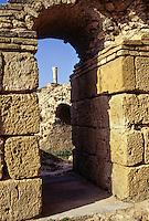 Carthage, Tunisia.  Roman Ruins, Antonin Baths, 2nd. Century A.D.