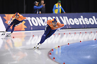 SPEEDSKATING: SALT LAKE CITY: Utah Olympic Oval, 10-03-2019, ISU World Cup Finals, 1500m Men, Kjeld Nuis (NED), world record: 1:40.176, ©Martin de Jong