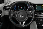Car pictures of steering wheel view of a 2020 KIA Niro-Plug-In-Hybrid EX-Premium 5 Door Hatchback Steering Wheel