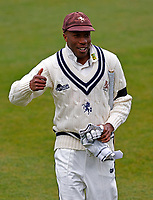 Kent captain Daniel Bell-Drummond during Kent CCC vs Yorkshire CCC, LV Insurance County Championship Group 3 Cricket at The Spitfire Ground on 15th April 2021