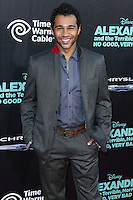 HOLLYWOOD, LOS ANGELES, CA, USA - OCTOBER 06: Corbin Bleu arrives at the World Premiere Of Disney's 'Alexander And The Terrible, Horrible, No Good, Very Bad Day' held at the El Capitan Theatre on October 6, 2014 in Hollywood, Los Angeles, California, United States. (Photo by Xavier Collin/Celebrity Monitor)
