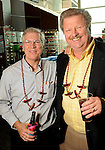 John Culligan and Bill Holt at the Cinco de Mayo themed reception held by Siemens at the West Club in Reliant Stadium Wednesday May 2,2012. (Dave Rossman Photo)