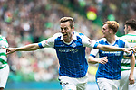 Celtic v St Johnstone …26.08.17… Celtic Park… SPFL<br />Steven MacLean celebrates his goal<br />Picture by Graeme Hart.<br />Copyright Perthshire Picture Agency<br />Tel: 01738 623350  Mobile: 07990 594431