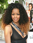 Teyana Taylor at The Screen Gems L.A. Premiere of Jumping the Broom held at The Cinerama Dome Theatre in Hollywood, California on May 04,2011                                                                               © 2011 Hollywood Press Agency