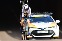 9th September 2021; Trento, Trentino–Alto Adige, Italy: 2021 UEC Road European Cycling Championships, Womens Individual time trials:  OYARBIDE JIMENEZ Lourdes (ESP)