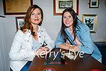 Enjoying the evening in Teacht Beag on Saturday, l to r: Nancy and Mary Kate Kelliher
