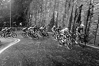 racing in torrential rains up Il Piccolo Stelvio at <br /> Grande Trittico Lombardo 2020 (1.Pro/ITA)<br /> 1 day race from Legnano to Varese (200km)