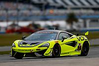 5-8 January, 2017, Daytona Beach, Florida USA<br /> 7, McLaren, McLaren GT4, GS, Alan Brynjolfsson, Chris Hall<br /> ©2017, Jake Galstad<br /> LAT Photo USA