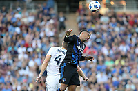Stanford, CA - Saturday June 30, 2018: Danny Hoesen prior to a Major League Soccer (MLS) match between the San Jose Earthquakes and the LA Galaxy at Stanford Stadium.