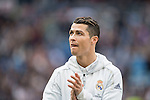 Cristiano Ronaldo of Real Madrid trains before the match Real Madrid vs RCD Espanyol, a La Liga match at the Santiago Bernabeu Stadium on 18 February 2017 in Madrid, Spain. Photo by Diego Gonzalez Souto / Power Sport Images