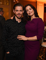 2020 FOX WINTER TCA: L-R: PRODIGAL SON cast members Tom Payne and Bellamy Young celebrate at the FOX WINTER TCA ALL-STAR PARTY during the 2020 FOX WINTER TCA at the Langham Hotel, Tuesday, Jan. 7 in Pasadena, CA. © 2020 Fox Media LLC. CR: Frank Micelotta/FOX/PictureGroup