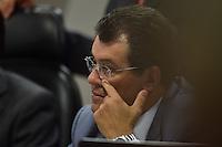 BRASÍLIA, DF, 21.02.2017 – SABATINA-SENADO – O relator da CCJ, senador Eduardo Braga durante sabatina na CCJ do Senado, na tarde desta terça-feira, 21. (Foto: Ricardo Botelho/Brazil Photo Press)