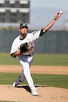 Ben Hornbeck - Oakland Athletics 2009 Instructional League. .Photo by:  Bill Mitchell/Four Seam Images..
