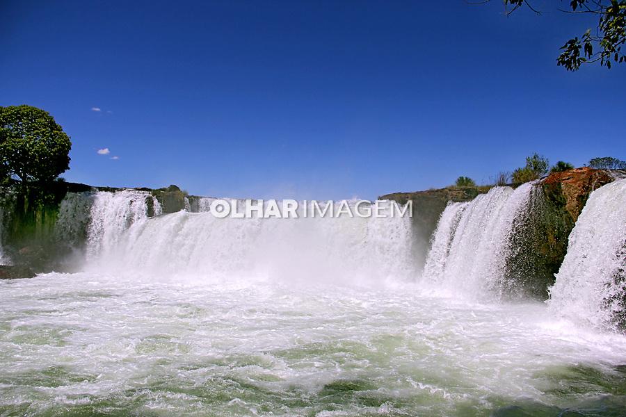 Cachoeira da Velha. Parque Estadual do Jalapao. Tocantins. Brasil 2015. Foto de Monica Zarattini.