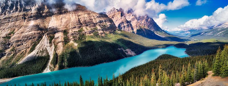 Peyto Lake. Banff National Park. Alberta. Canada.