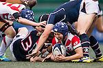 Seina Saito Japan Captain (c) during the Womens Rugby World Cup 2017 Qualifier match between Hong Kong and Japan on December 17, 2016 in Hong Kong, Hong Kong. Photo by Marcio Rodrigo Machado / Power Sport Images