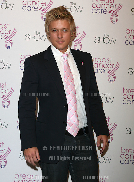 Jonathan Ansell arriving at  The Breast Cancer Care 2009 Fashion Show at Grosvenor House Hotel, London. 07/10/2009   Picture by: Alexandra Glen / Featureflash