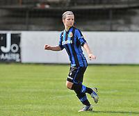 Club Brugge Dames B : Astrid Braeckevelt.foto DAVID CATRY / Nikonpro.be