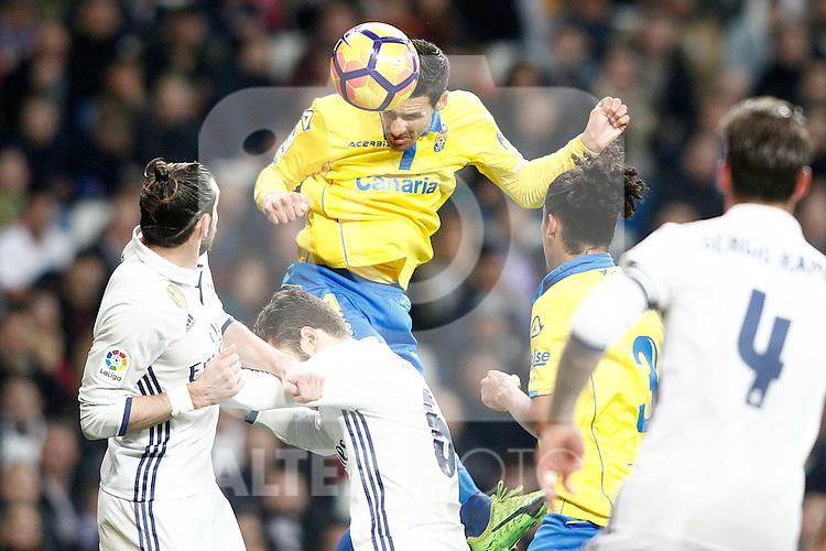 UD Las Palmas' Vicente Gomez during La Liga match. March 1,2017. (ALTERPHOTOS/Acero)