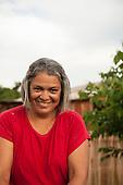 Pará State, Brazil. Cicera Terena, Director of the Komomoyea Kovoero Secondary School, in Aldeia Indigena Kuxonety Pokee, a Terena village in the Gleba Iriri Indigenous Territory.