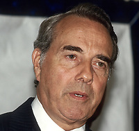Chicago Illinois, USA, August 21, 1987 <br /> United States Senator Robert Dole (R-KS) speaking at a Republican Party fundraiser Credit: Mark Reinstein/MediaPunch