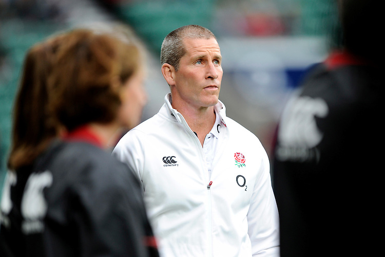 Stuart Lancaster, England Team Manager, before the match between England and Barbarians at Twickenham Stadium on Sunday 31st May 2015 (Photo by Rob Munro)
