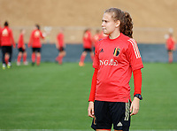 20201021 - TUBIZE , Belgium : Jarne Teulings pictured during a training session of the Belgian Women's National Team, Red Flames , on the 21st of October 2020 at Proximus Basecamp in Tubize. PHOTO: SPP | SPORTPIX.BE | SEVIL OKTEM