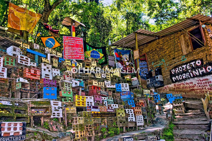 Projeto social Morrinho, favela Pereira da Silva. Rio de Janeiro. 2010. Foto de Sergio Amaral.