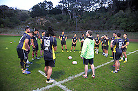 Wellington Rugby Academy training at Rugby League Park, Wellington, New Zealand on Monday, 25 July 2016. Photo: Dave Lintott / lintottphoto.co.nz