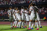 Sao Paulo (SP), 11/03/2020 - Sao Paulo-LDU - Igor Gomes, do Sao Paulo comemora seu gol, em partida contra a LDU, valida pela fase de grupos da Copa Libertadores, no Allianz Parque, em Sao Paulo (SP), nesta quarta-feira (11). (Foto: Marivaldo Oliveira/Codigo 19/Codigo 19)