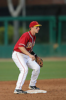 March 7 2010: Joe De Pinto of USC during game against University of New Mexico at Dedeaux Field in Los Angeles,CA.  Photo by Larry Goren/Four Seam Images
