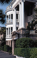 Charleston:  House along Battery.  Photo '78.