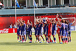 Japan team group, JULY 1, 2015 - Football / Soccer : Players of Japan applaud the fans after winning the FIFA Women's World Cup Canada 2015 Semi-final match between Japan 2-1 England at Commonwealth Stadium in Edmonton, Canada. (Photo by AFLO)